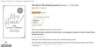 Amazon Book Charts Sales Uk Mrs Hinchs Second Book Topped Amazons Best Sellers List
