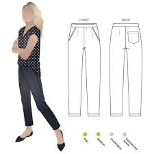 Pants Patterns Mesmerizing Parker Ponte Pant Style Arc