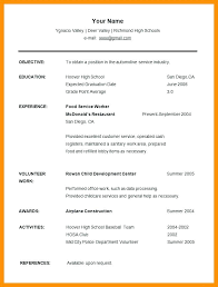 Undergraduate Sample Resume Cool Undergraduate Resume Template Doc Sample Student Resume Template