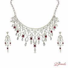 diamond jewellery diamond necklace set diamond necklace jewellery wedding jewellery engagement jewellery