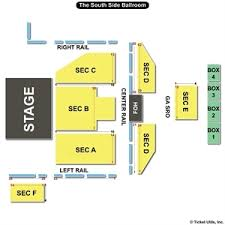 South Side Ballroom Seating Chart The Palladium Ballroom Dallas Tx Seating Chart South Side
