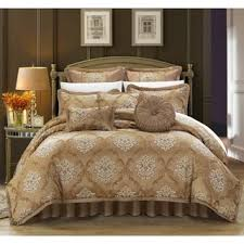 gold comforter sets king.  sets chic home antonio gold jacquard 9piece comforter set options gold king in sets