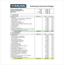 cost spreadsheet for building a house construction budget sample roberto mattni co