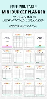 Budget For Free Free Printable Budget Sheets 28 Brilliant Pages In A5 Size