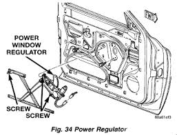 replace power window regulator 1999 dodge dakota power window separate window regulator from door panel attached images thumb