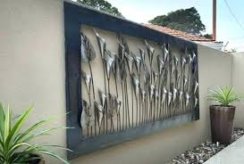 outdoor wall art fish outside metal wall art sensational large outdoor metal wall art metal sculpture