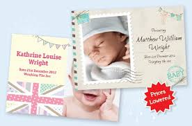 Printed Birth Announcement Birth Announcement Cards Personalise Print Online