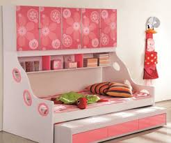 compact bedroom furniture. picture of compact bedroom furniture design idea featured cool toddler bed for girl with floral cabinet door