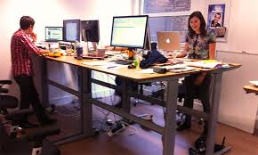 standing desk office. How To Design Your Startup Office For A Productive Workforce Standing Desk