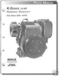tp 691 b new parts manual for k321 kohler engine randy s engine repair