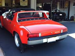 porsche for classic cars for uk this is a 914 6 built in of 1970 at the porsche factory completely restored all of the vin plates color plates door stickers intact from the