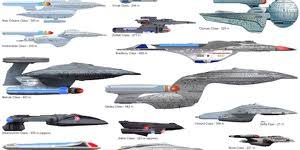 Starship Size Comparison Charts Star Trek Minutiae