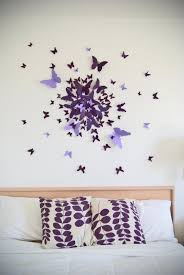 4 erfly wall art decor ideas purple handmade