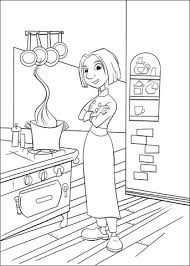 Small Picture Colette In The Kitchen coloring page Free Printable Coloring Pages