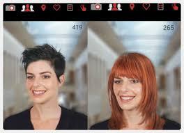 بدل ما تبهدلى شعرك 5 تطبيقات تساعدك فى اختيار تسريحات