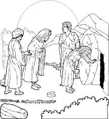 Free Coloring Pages For Easter Religious Resurrection Religious