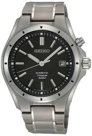 seiko mens titanium kinetic watch ska493p1 seiko ska493p1