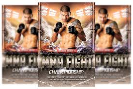 Remember, we include assembly videos for all of our free svg files, you'll. Mma Fighting Flyer Template 418666 Flyers Design Bundles