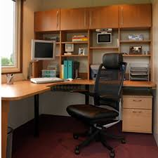 ergonomic black leather chair for cute home office ideas with wooden corner computer desk and useful hutch