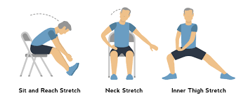 seat and reach neck inner thigh