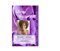 Download Funeral Program Templates 24Page Graduated Floral 24 Funeral Pamphlets 15