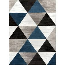 well woven dulcet retro shapes 9 ft x 13 midcentury modern mid century modern rugs blue o60 century