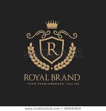 Crown Template Delectable Royal Brand King Logo Crown Logor Stock Vector Royalty Free