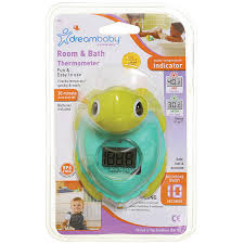 dreambaby room bath turtle thermometer