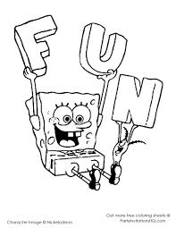 Small Picture Coloring Pages Patrick And Spongebob Printable Coloring Pages