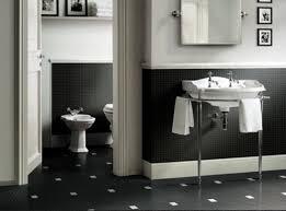 Black And White Bathrooms Black Bathroom Tiles Ideas Kahtany