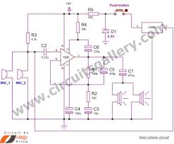 simple door phone intercom circuit schematic duplex circuits simple door phone intercom circuit schematic duplex circuits gallery