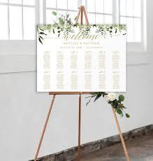 Gold Wedding Seating Chart Template Wedding Seating Chart Seating Chart Plan Seating Chart Sign Diy Seating Chart Welcome Wedding 0075