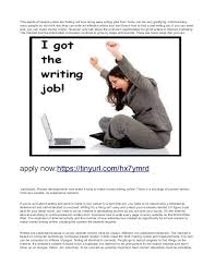 writing jobs work at home earn daily writing jobs work at home daily 200 work at home tinyurl com hx7ymrd 2