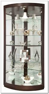 glass corner display cabinet ikea