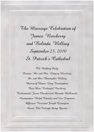 sample wedding ceremony program wedding programs wording etiquette storkie