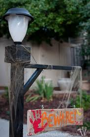 add some flair to you front yard with this lamppost a y sign