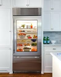 before and after los angeles project k i t c h e n glass front refrigerator frigidaire glass front commercial refrigerator