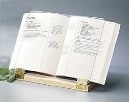 Original Hinged Cookbook Holder - Acrylic Shield With Wood Base and Brass  Plated Hinges - Made. Click to open expanded view. Clear Solutions