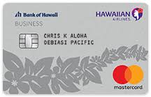 Bank Of Hawaii Credit Card Sign On