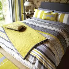 charming yellow grey lace stripe pillowcase lace stripe bedding lace stripe bed linen luxury grey striped