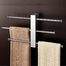 modern towel bar.  Towel Bridge WallMounted Towel Rack For Modern Bar