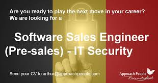 Software #sales #engineer - #it #security Wanted In #belgium! Http ...