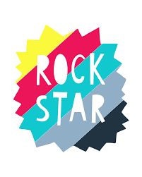 printable star hello wonderful rock star free printable art print