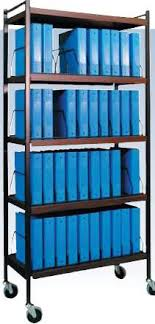 Medical Chart Carts With Vertical Racks Omnimed 260002 Bg Mckesson Medical Surgical