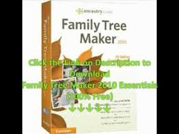 Family Tree Maker 2010 Download Family Tree Maker 2010 Essentials Free Download
