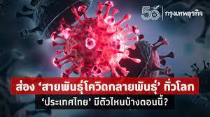 อัพเดท 'สายพันธุ์โควิด' ตัวไหนเข้าไทยแล้ว? พร้อมเช็ค 'อาการโควิด' แยก