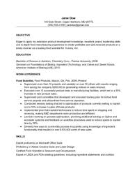 Sample Results Oriented Resume