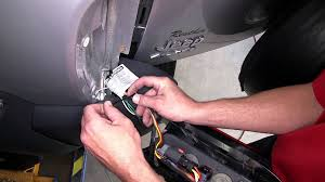 installation of a trailer wiring harness on a 2005 jeep liberty etrailer com you