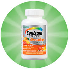 centrum silver chewables multivitamin delivers 100 of the recommended daily amount of 12 essential vitamininerals and is formulated to support heart