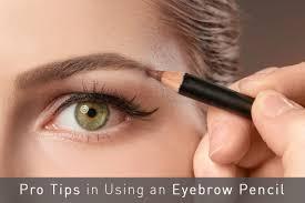 eyebrow pencil tips